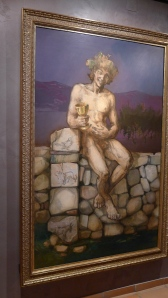 Bacchus painting