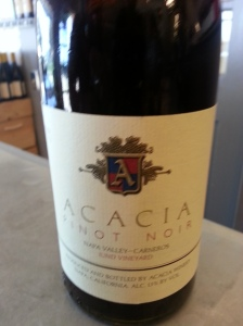 One of the oldest Acacia Pinot's that we have ever tasted. A 1982 Iund Vineyard designate. Suprisingly delightful
